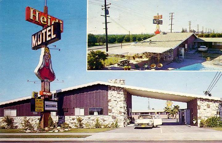 Heidi Motel Near Disneyland In Anaheim 60 S D Land