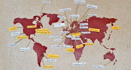 Collaborative offices - existing global network