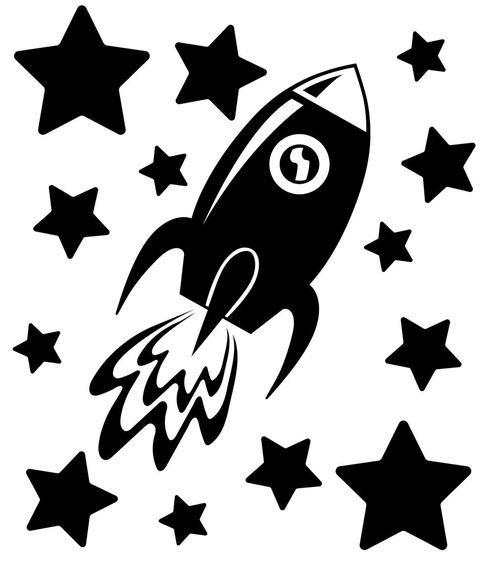 Free Rocketship Svg Cut File Plotter Weihnachten