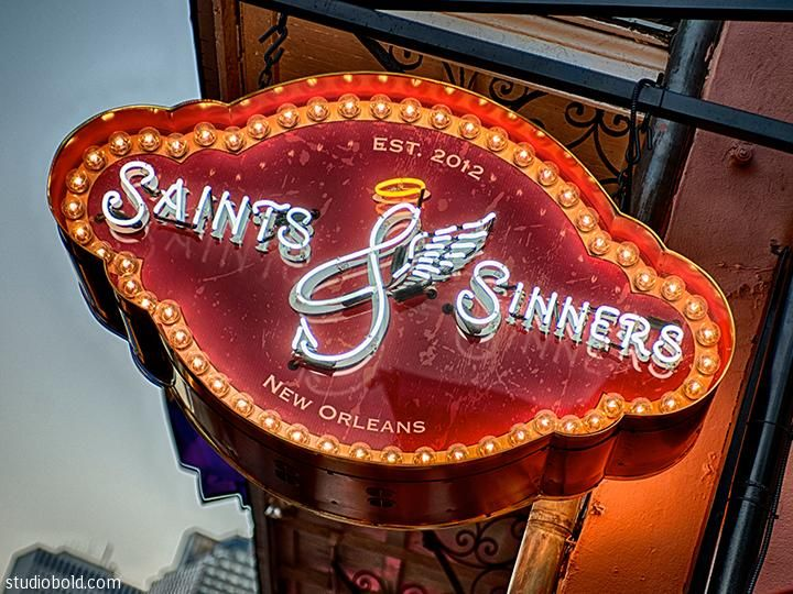 Saints and Sinners New Orleans | StudioBold__0001_SaintsAndSinners_LogoSign