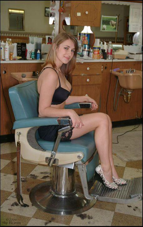 Bitch def barber shop women shaved their heads hot!!!! Please add