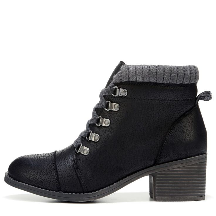 Billabong Women's Outer Limits Lace Up Boots (Off Black)