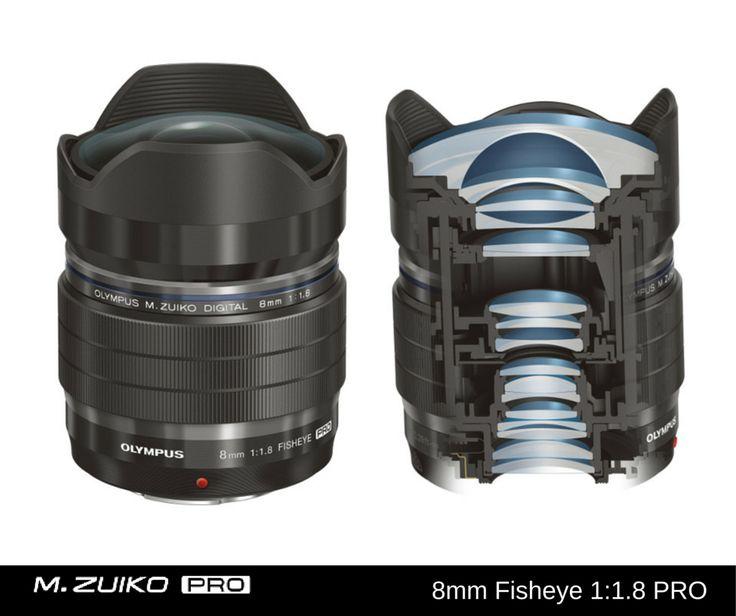 M.ZUIKO DIGITAL ED 8mm Fisheye 1:1.8 PRO oraz M.ZUIKO DIGITAL ED 7-14mm 1:2.8 PRO