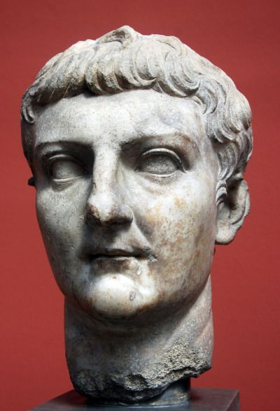 Posthumous portrait of Germanicus. After 19 AD.