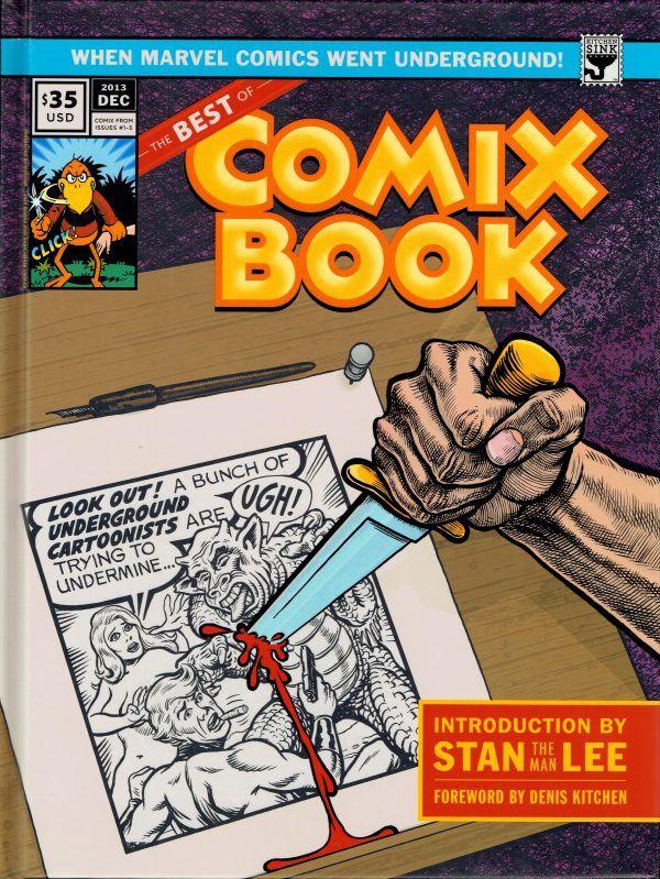 N ew-York, 1973. Flairant un bon coup, malgré quelques années de retard, Stan Lee, alors directeur général de Marvel, convainc Denis Kitchen d'éditer un comic book underground et de le publier aux côtés de Spiderman et consort ! L'opération sent l'opportunisme commercial, mais Marvel paye bien, très bien même : Comix Book est né. L'aventure ne durera qu'un court moment, mais marquera à jamais le paysage de la BD US.