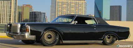 70 Lincoln Continental Mark III lowrider From Fast N' Loud!