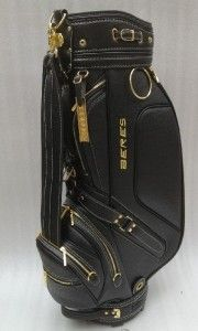 Ultra Leather Cart Staff Golf Bag with Raincover on Made-in-China.com