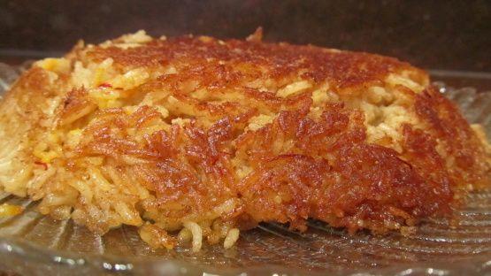 http://www.food.com/recipe/bahraini-sweet-rice-muhammar-443553