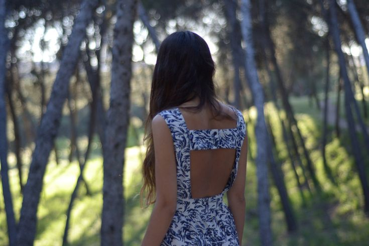 Paisley backless playsuit