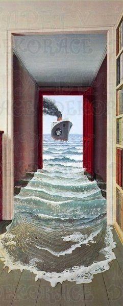 Fototapeta / Fototapety 1-dílné dveřní (86 x 210cm) Le Secret 548 W+G