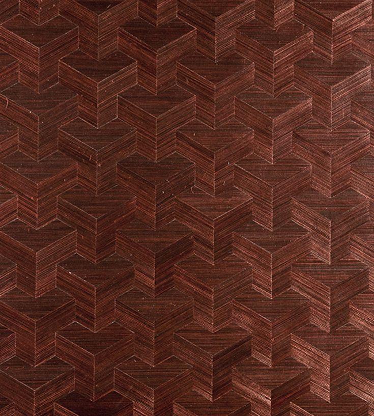 70s Interior Design Revival | Cube Wallpaper by Arte | Jane Clayton