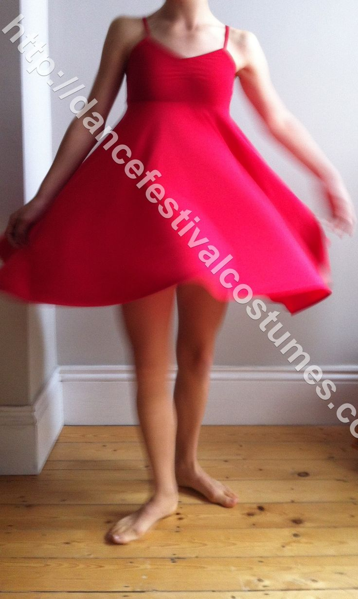 Red contemporary lyrical dress, I can make these in literally any colour and with skirt length you would like , contact me on 07891978774 or helenmsmith914@gmail.com