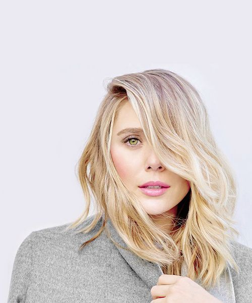 Elizabeth Olsen photographed by Mary Rozzi for «The Hollywood Reporter»