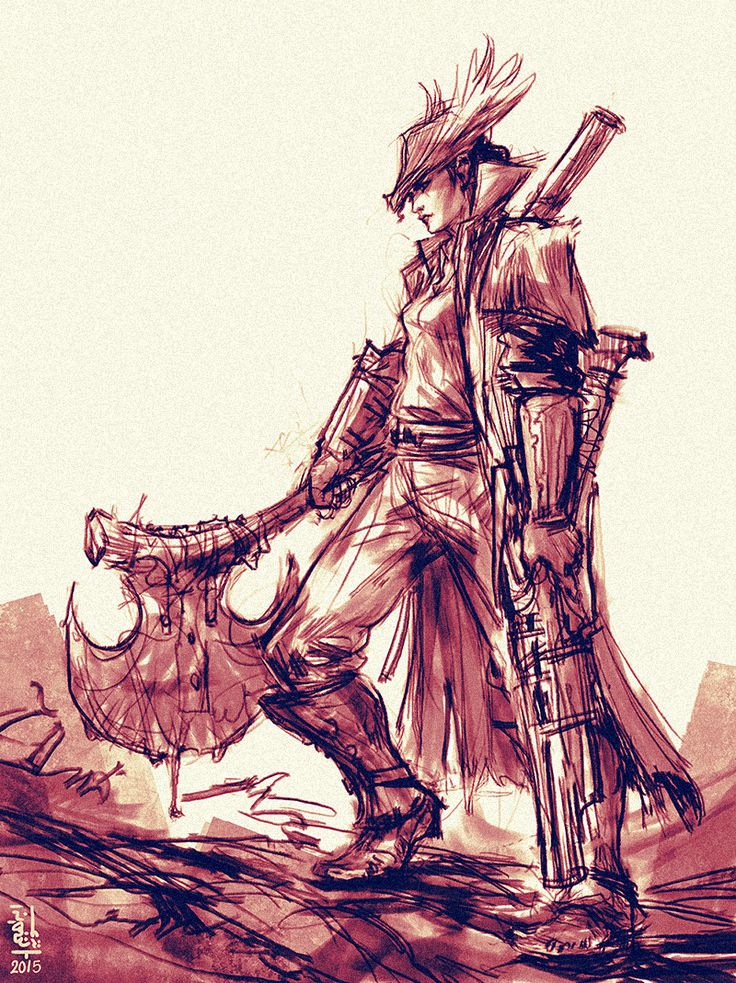 Bloodborne: Huntress by saint-max on DeviantArt