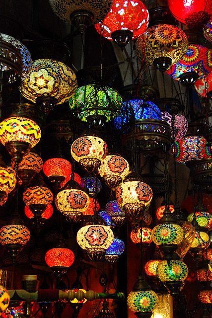 Istanbul, Turkey...I want these throughout my house!!!!