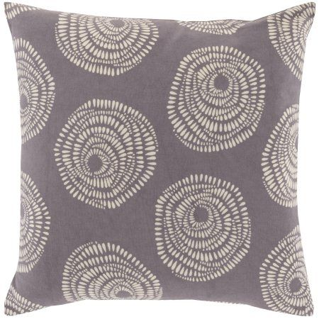Art Of Knot Danica 22 X 22 Pillow With Down Fill Walmart Com Throw Pillows Art Of Knot Cotton Throw Pillow