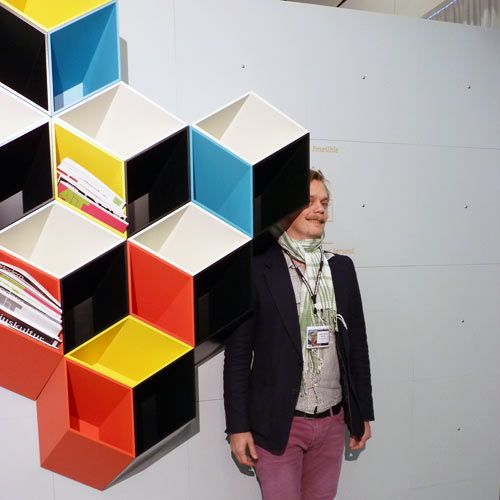 Quite possibly the coolest shelves EVER. IMEÜBLE BY BJØRN JØRUND BLIKSTAD