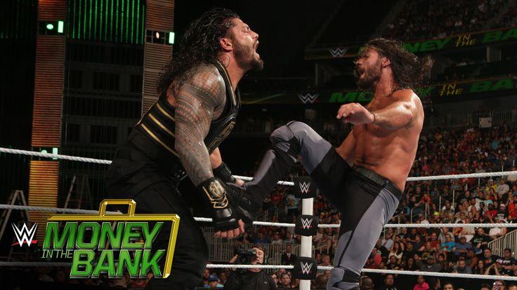 Roman Reigns vs. Seth Rollins - WWE World Heavyweight Title Match: WWE M...  https://www.youtube.com/watch?v=lMO2YZX78R0