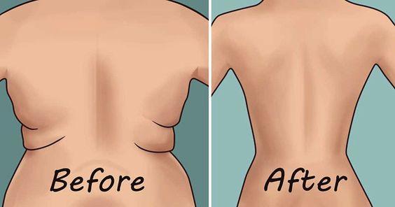 Elimina il grasso nella schiena e sotto le ascelle grazie a questi 4 esercizi semplici e veloci