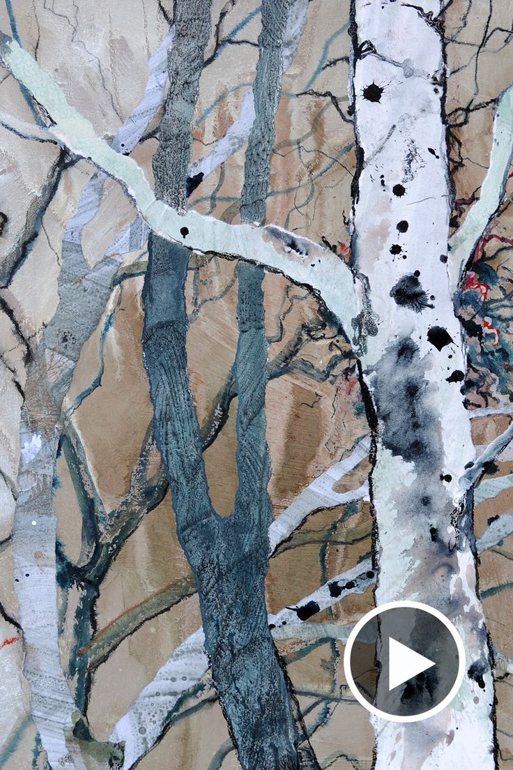 In this short film gallery artist Jenny Grevatte discusses the ongoing theme of trees in her work. Watch our video to learn about her methods.