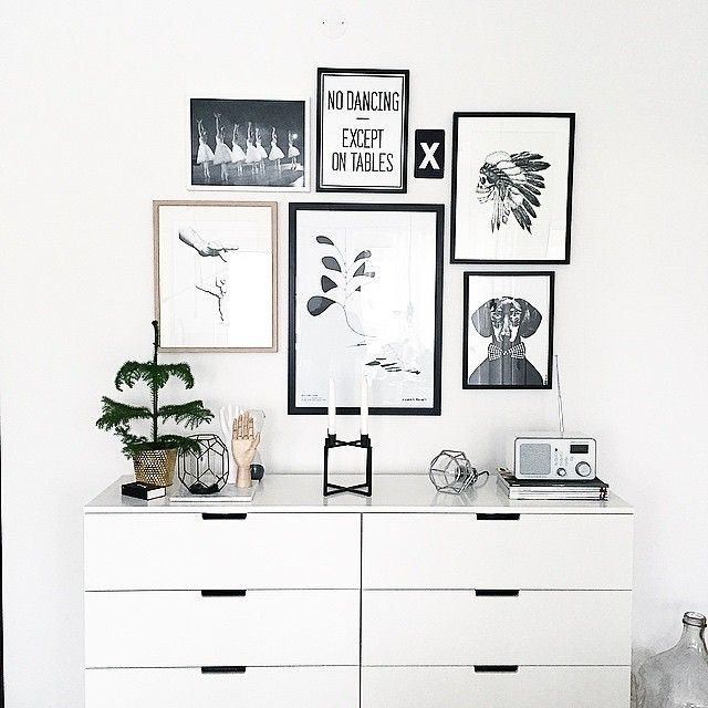 Ikea 'Nordli' chest of drawers @elingunnerbom