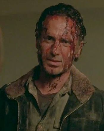 The Walking Dead Season 6 Trailer Pits Rick Vs. Alexandria: Watch! - Us Weekly