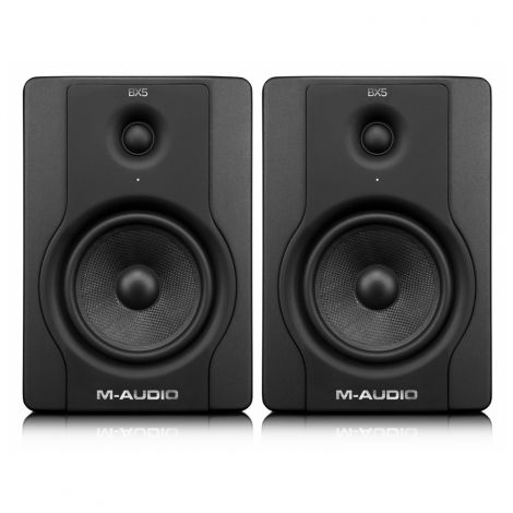 M Audio BX5 D2 (Pair) Studio Monitor @ INR 21500. The M-Audio® BX studio monitor series is trusted by more musicians and recording professionals than any other. Now, the BX5 D2 monitors extend the bestsellers' legacy* with an elegant new design inside and out.