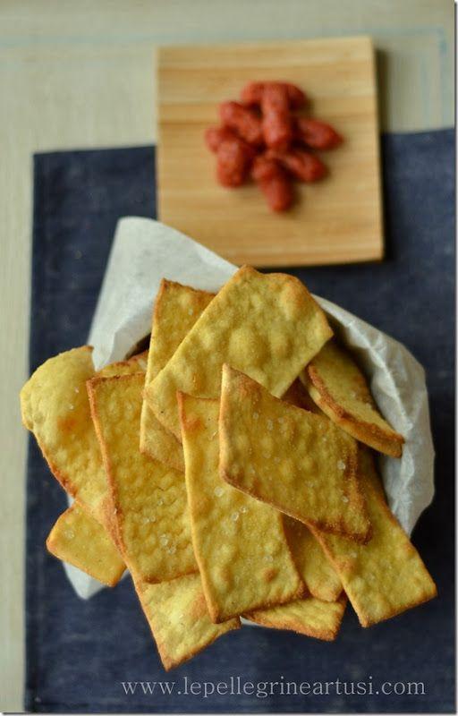 Le pellegrine Artusi: Cracker croccanti, brioche salate e tomini in cros...