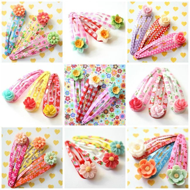Childrens hair accessories! To cute: Pretty Clips, Hair Clips, Amazing Clips, Pretty Things, Nest Pretty, Kid Stuff, Diy Kids, Kid Crafts
