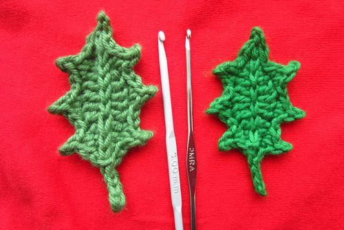 Jolly Hilly ~ tutorial - put together with red buttons to make embellishments for gifts or christmas tree decorations