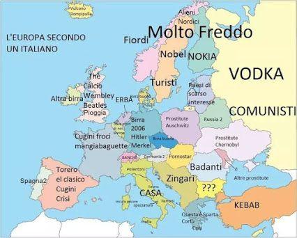 Europa vista dagli italiani #compartirvideos #immaginidivertente
