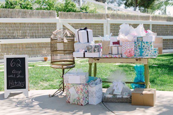 Ideas For Wedding Gifts On Tables : ... Want From Your Bridal Shower Photos, Presents and Pictures