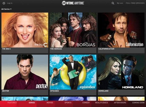 SHOWTIME ANYTIME® is FREE with your SHOWTIME® subscription through participating TV providers. Get unlimited access to full-length versions of your favorite SHOWTIME® programs — acclaimed Original Series, uncut hit movies, hard-hitting sports, comedy, reality/documentaries and much more, right at your fingertips. Love this UI