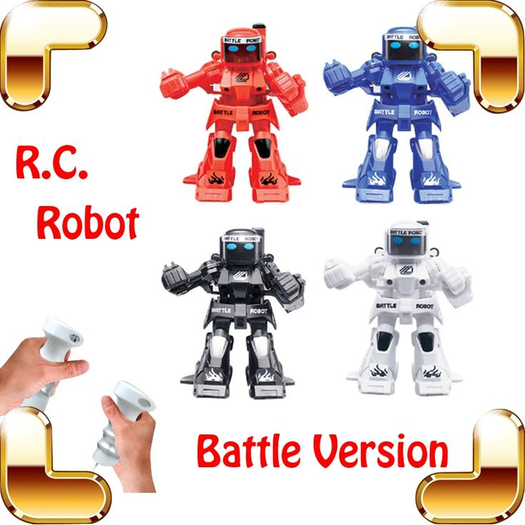 (33.99$)  Buy here  - New Coming Gift  Somatic Game 2.4G RC Battle Robot Fighting Machine Electric Remote Toys Model Children Cool Entertainment