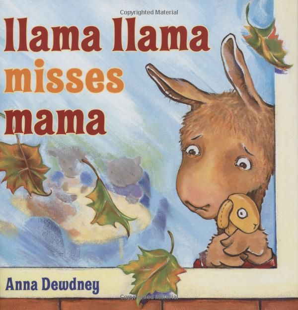 Such a sweet book! It would be great to read on the first day of school!