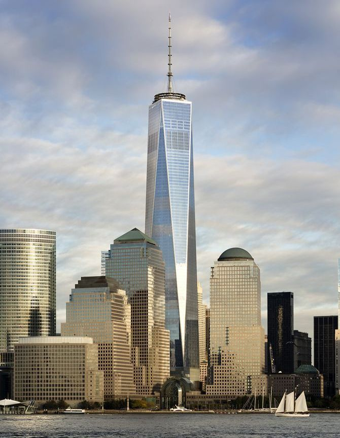 The renowned World Trade Center in USA.