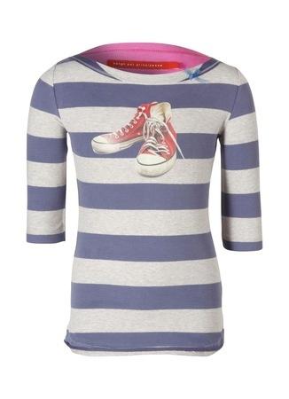 Bengh per principesse Gestreept T-shirt met print