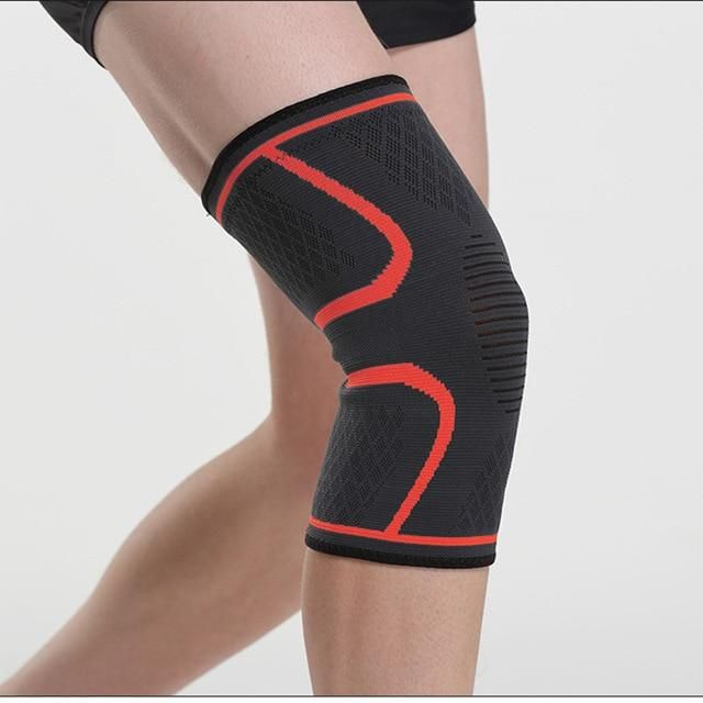 1pcs Knee Support Professional Protective Sports Knee Pad Breathable Bandage Knee Brace Basketball Tennis Cycling Knee Support Braces Knee Support Knee Pads