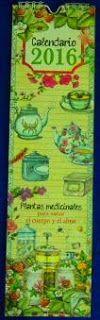 sibila esotérica: Calendario 2016 PLANTAS MEDICINALES