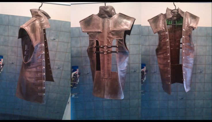 AC BF - Edward - Leather Vest Detail by Trujin.deviantart.com on @deviantART