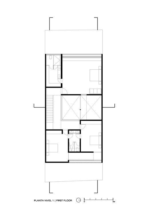 Gallery Of V House / COTAPAREDES Arquitectos   27. Villa PlanHouse Floor ...