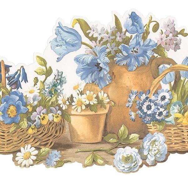 Floral Border Kitchen Wallpaper Pinterest