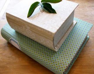Cantinho craft da Nana: porta trecos- falso livro