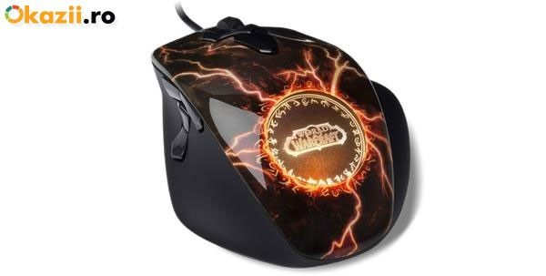 Mouse SteelSeries World of Warcraft MMO Legendary Edition foto mare