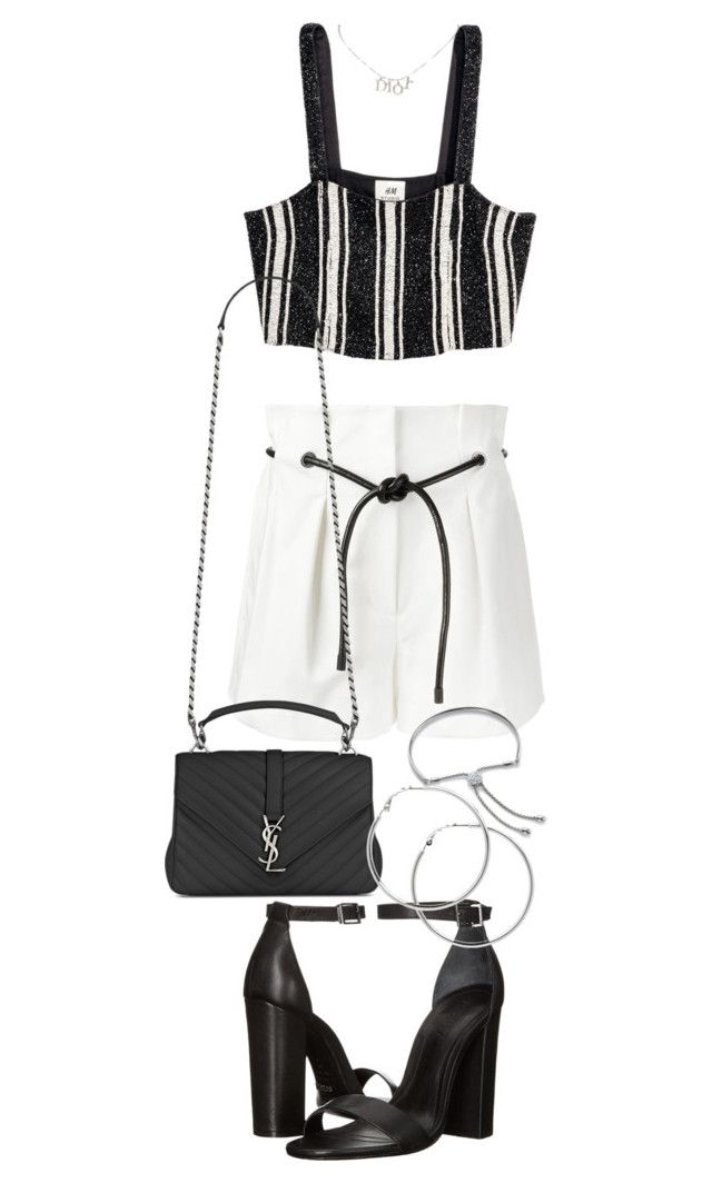 """Untitled #21211"" by florencia95 ❤ liked on Polyvore featuring 3.1 Phillip Lim, Christian Dior, Yves Saint Laurent, Schutz, Melissa Odabash and Monica Vinader"