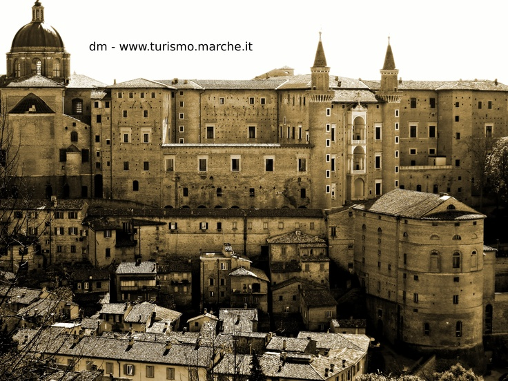 Urbino: The Ducal Palace - Marche, Italy