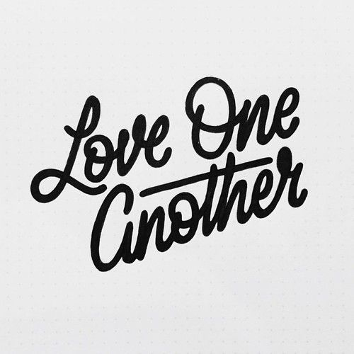 Love one another by Bob Ewing.