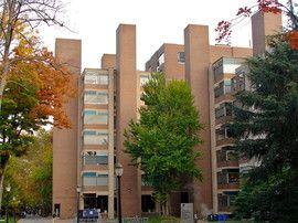 Лабораторный корпус при Пенсильванском университете. Филадельфия, 1957-61гг