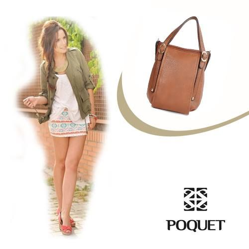 Saia em estampa étnica + bolsa #Poquet http://www.portaldabolsa.com.br/produto-548/bolsa-transversal/bolsa-transversal-feminina-012by