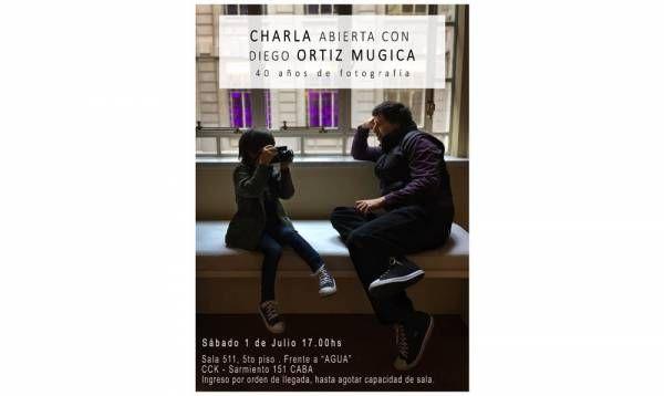Editorial Catapulta invita a la Charla abierta con el fotógrafo Diego Ortiz Mugica